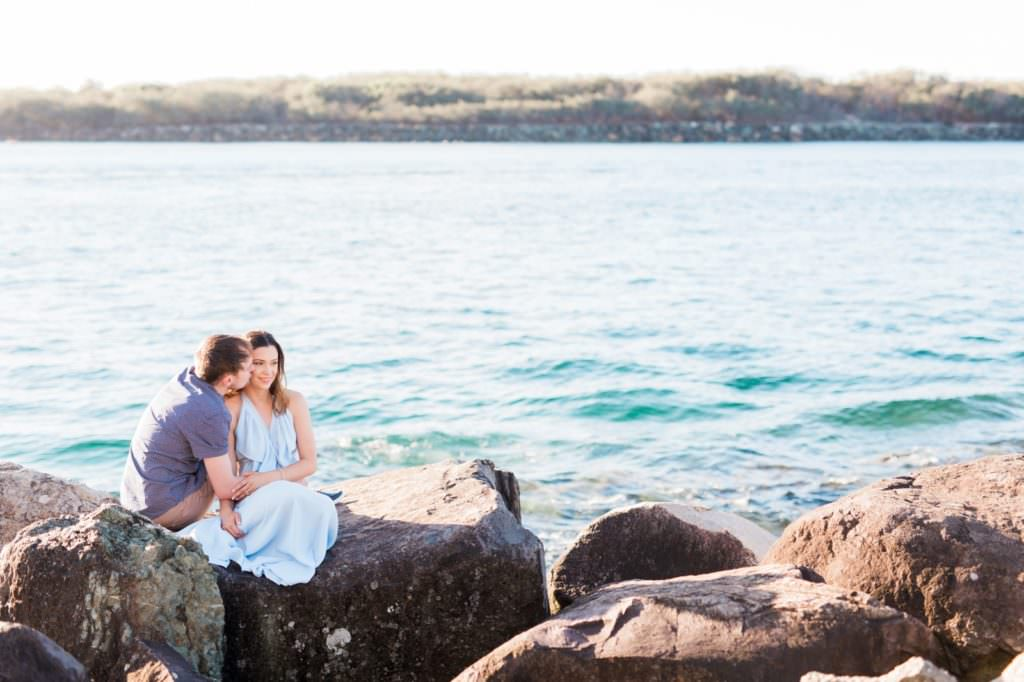 The Spit Gold Coast engagement by Mario Colli Photography