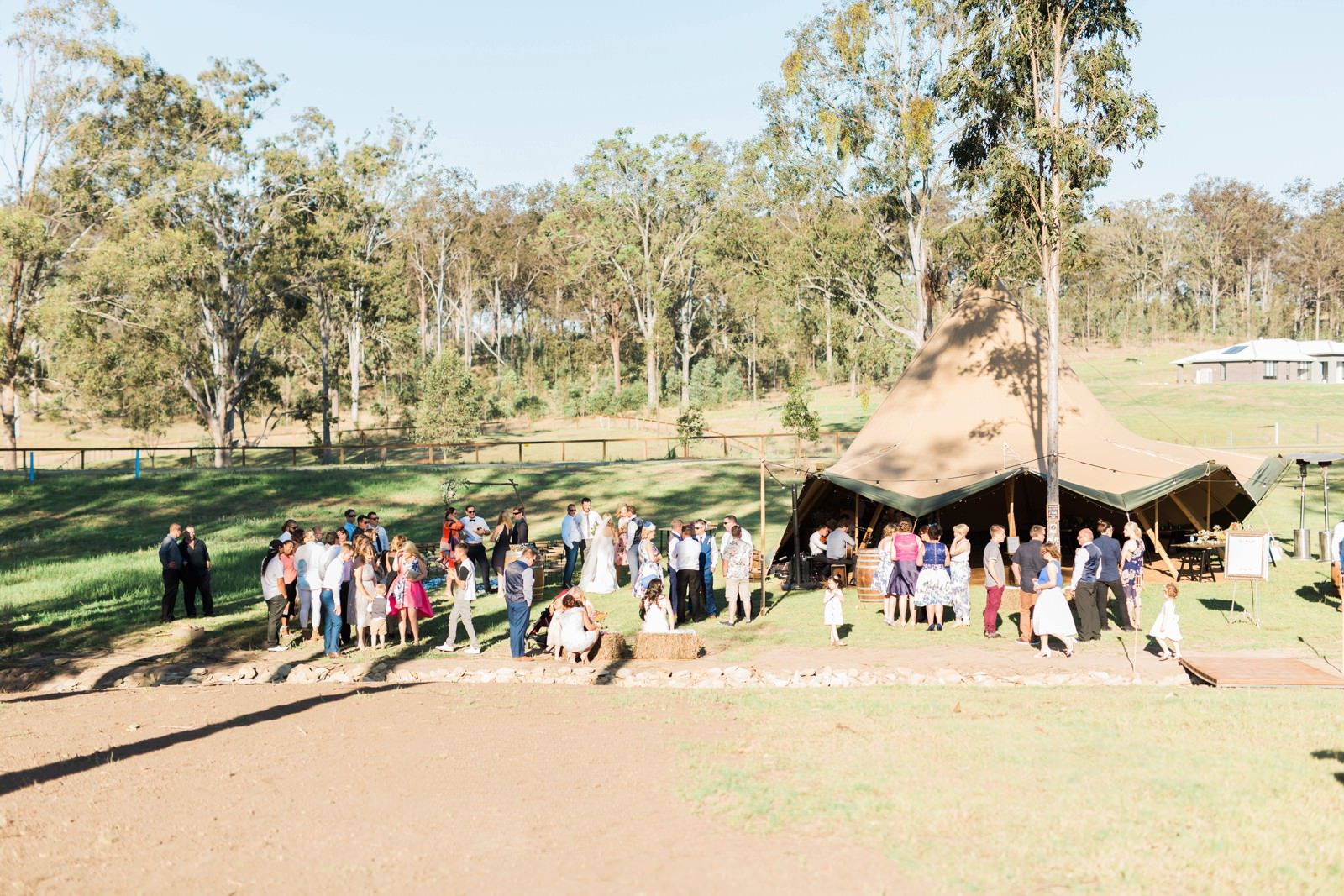 Country Rustic Australia Wedding by mario colli photography