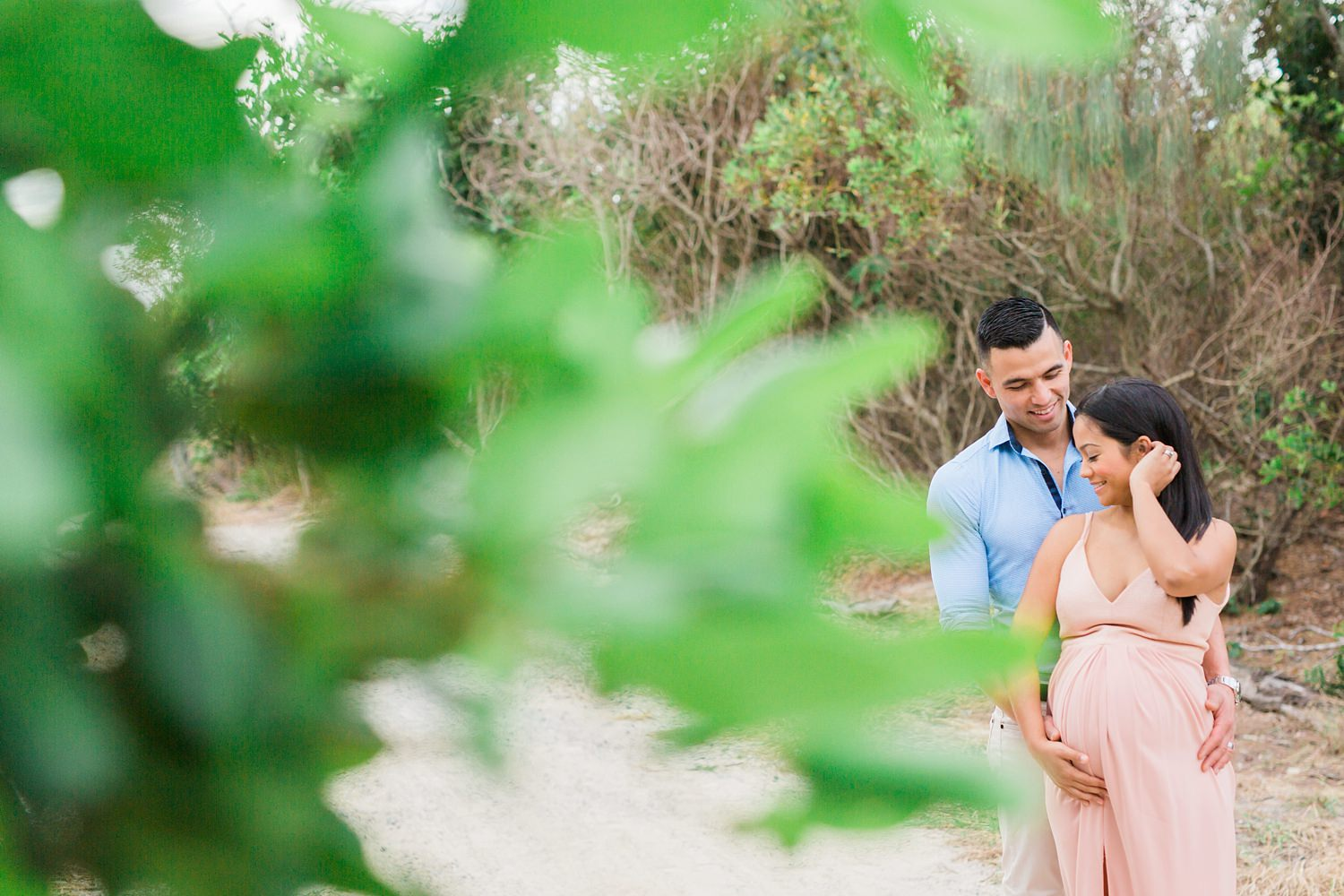 Gold Coast Beach Maternity Photos
