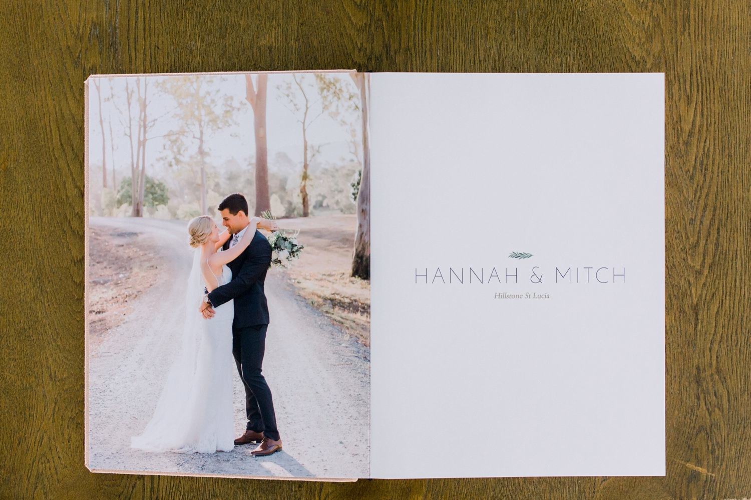Fine Art Gold Coast Wedding Album