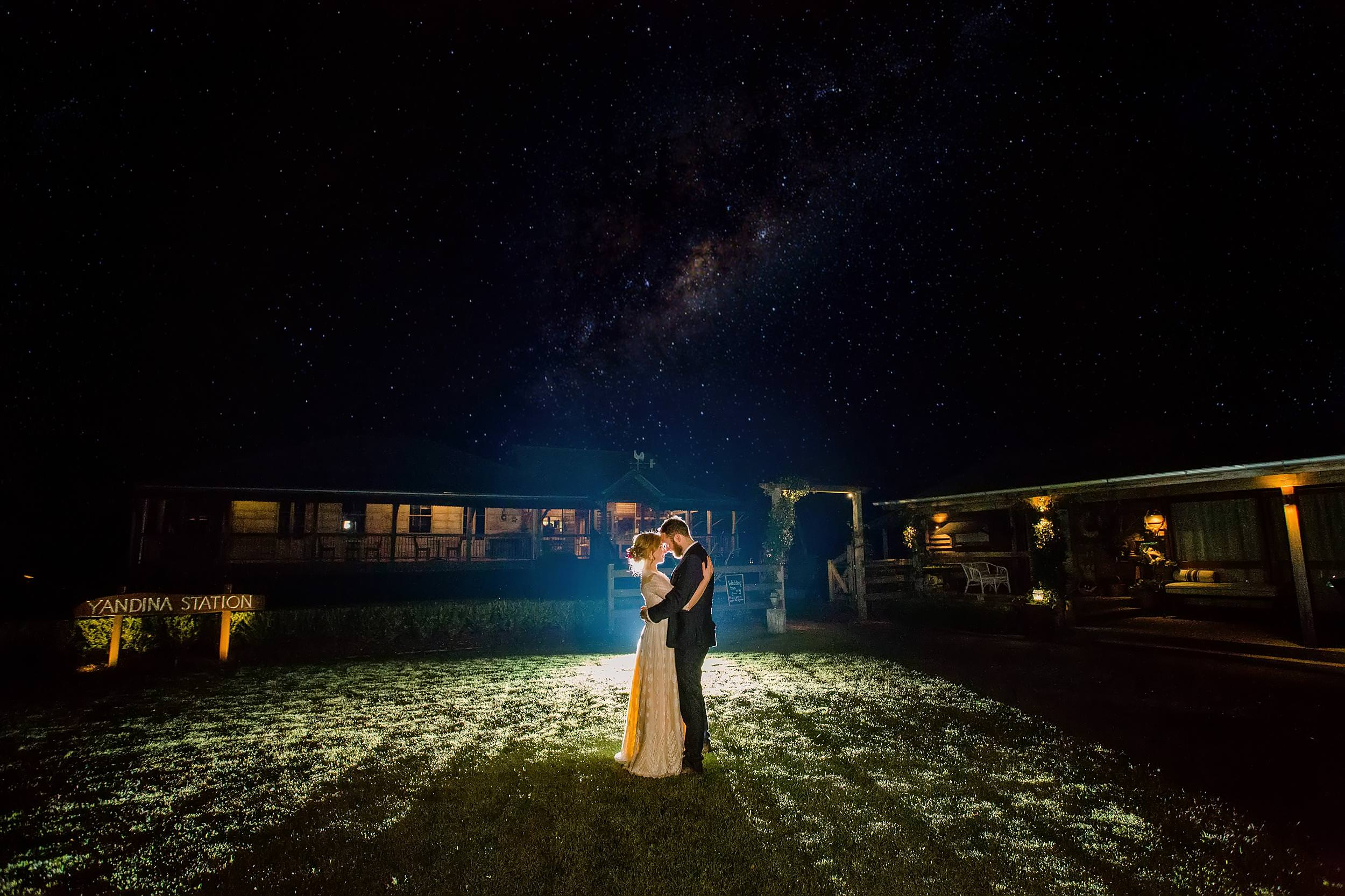 yandina-station-wedding-night-sky