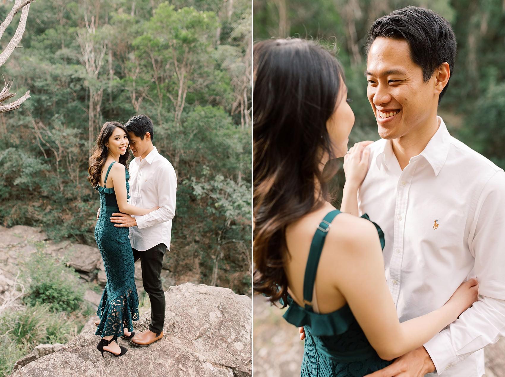 Brisbane Engagement Mt Coot-Tha